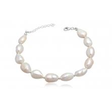 Pulsera de Perlas Naturales Clasic