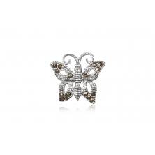Colgante de Plata con Marcasita - Mariposa
