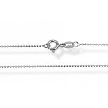 Cadena de plata 50 cm (Bola)