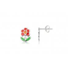 Pendientes de Plata para niñas - Flores